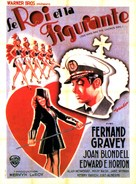 The King and the Chorus Girl - French Movie Poster (xs thumbnail)