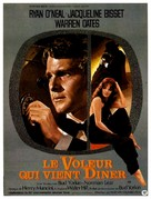 The Thief Who Came to Dinner - French Movie Poster (xs thumbnail)