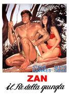 Tarzán en la gruta del oro - Italian Movie Poster (xs thumbnail)