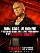 A Good Day to Die Hard - Italian Movie Poster (xs thumbnail)