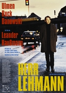 Herr Lehmann - German Movie Poster (xs thumbnail)