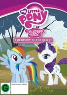"""""""My Little Pony: Friendship Is Magic"""" - New Zealand DVD movie cover (xs thumbnail)"""