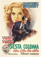 All Through the Night - Italian Movie Poster (xs thumbnail)