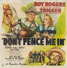 Don't Fence Me In - Movie Poster (xs thumbnail)