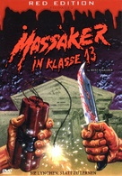 Massacre at Central High - German DVD cover (xs thumbnail)