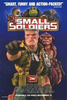 Small Soldiers - Video release movie poster (xs thumbnail)