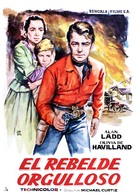The Proud Rebel - Spanish Movie Poster (xs thumbnail)