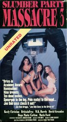 Slumber Party Massacre III - VHS cover (xs thumbnail)