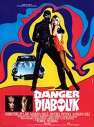 Diabolik - French Movie Poster (xs thumbnail)