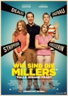 We're the Millers - German Movie Poster (xs thumbnail)
