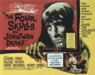 The Four Skulls of Jonathan Drake - British Movie Poster (xs thumbnail)