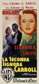 The Two Mrs. Carrolls - Italian Movie Poster (xs thumbnail)