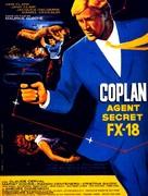 Agent secret FX 18 - French Movie Poster (xs thumbnail)