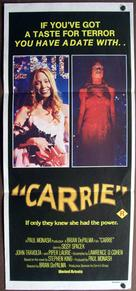 Carrie - Australian Movie Poster (xs thumbnail)