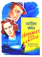 Walk Softly, Stranger - French Movie Poster (xs thumbnail)