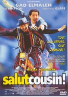 Salut cousin! - French DVD cover (xs thumbnail)
