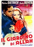 The Garden of Allah - Italian Movie Poster (xs thumbnail)