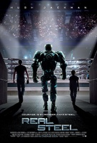 Real Steel - British Movie Poster (xs thumbnail)