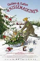Pettson och Findus 3: Tomtemaskinen - Swedish poster (xs thumbnail)