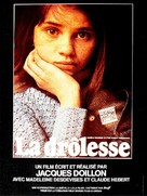 Drôlesse, La - French Movie Poster (xs thumbnail)
