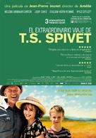 L'extravagant voyage du jeune et prodigieux T.S. Spivet - Spanish Movie Poster (xs thumbnail)