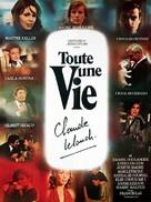 Toute une vie - French Movie Poster (xs thumbnail)