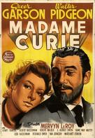Madame Curie - Spanish Movie Poster (xs thumbnail)