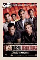 Ocean's Thirteen - Lithuanian Movie Poster (xs thumbnail)