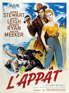 The Naked Spur - French Movie Poster (xs thumbnail)