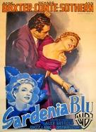 The Blue Gardenia - Italian Movie Poster (xs thumbnail)
