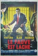 Fauve est lâché, Le - Belgian Movie Poster (xs thumbnail)