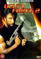 Delta Force 2 - Danish DVD cover (xs thumbnail)