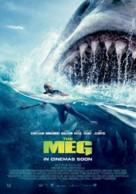 The Meg - New Zealand Movie Poster (xs thumbnail)