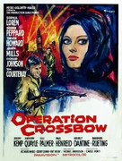Operation Crossbow - Belgian Movie Poster (xs thumbnail)
