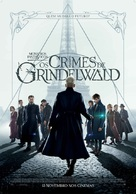 Fantastic Beasts: The Crimes of Grindelwald - Portuguese Movie Poster (xs thumbnail)