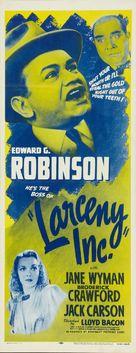 Larceny, Inc. - Re-release poster (xs thumbnail)