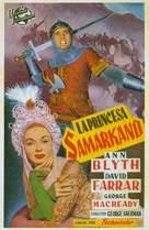 The Golden Horde - Spanish Movie Poster (xs thumbnail)