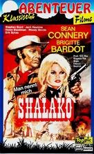 Shalako - German VHS movie cover (xs thumbnail)