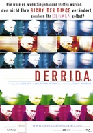Derrida - German Movie Poster (xs thumbnail)