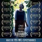 Aquarius - Brazilian Movie Poster (xs thumbnail)