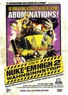 Class of Nuke 'Em High Part II: Subhumanoid Meltdown - German DVD cover (xs thumbnail)