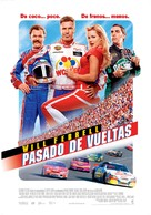 Talladega Nights: The Ballad of Ricky Bobby - Spanish Movie Poster (xs thumbnail)