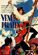 La Venere dei pirati - German Movie Poster (xs thumbnail)