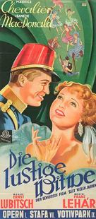 The Merry Widow - German Movie Poster (xs thumbnail)