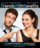 Friends with Benefits - Blu-Ray movie cover (xs thumbnail)