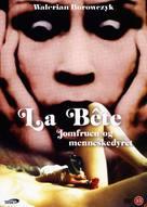 La bête - Danish DVD cover (xs thumbnail)