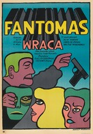 Fantômas se dèchaîne - Polish Theatrical movie poster (xs thumbnail)