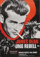 Rebel Without a Cause - Swedish Movie Poster (xs thumbnail)