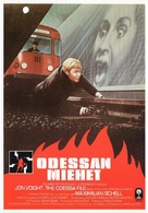 The Odessa File - Finnish VHS movie cover (xs thumbnail)