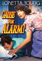Cause for Alarm! - DVD cover (xs thumbnail)